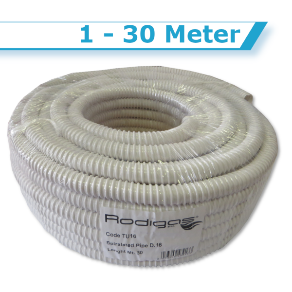 Rodigas Kondensatschlauch TU16  für Klimaanlage 18m