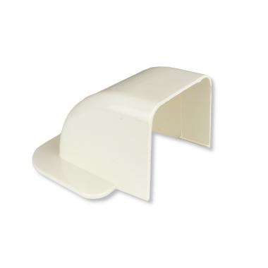 Rodigas Wandkurve für Klimaanlagenkanal 80mm (CA 80 CM)