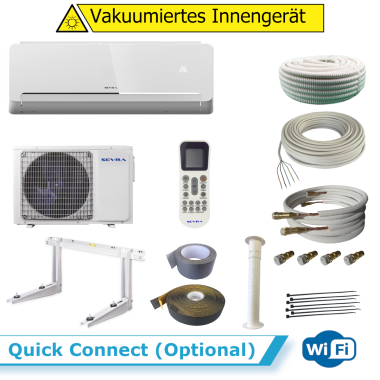 Sevra ECOMI SEV-12FV 3,5 kW WiFi + Quick Connect (Optional) ohne Montageset