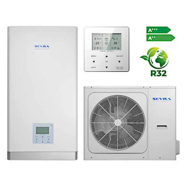 Sevra SEV-HPS1-12/O + SEV-MHPS3-16/I 12,1 kW