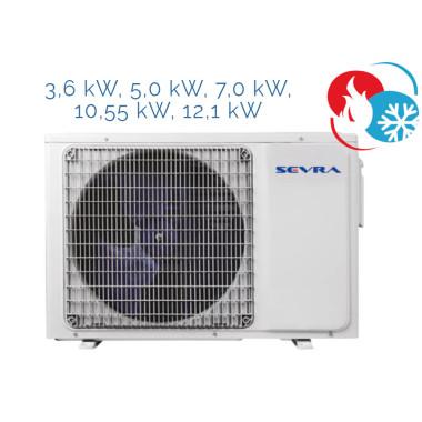 Sevra SEV-CAC 3,6 kW bis 16,0 kW (zur Auswahl)
