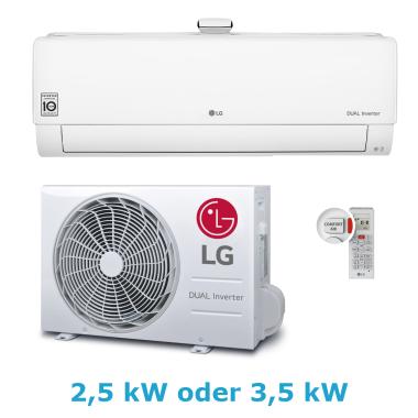 LG AP09RT 2,5 kW oder AP12RT 3,5 kW mit Luftreiniger