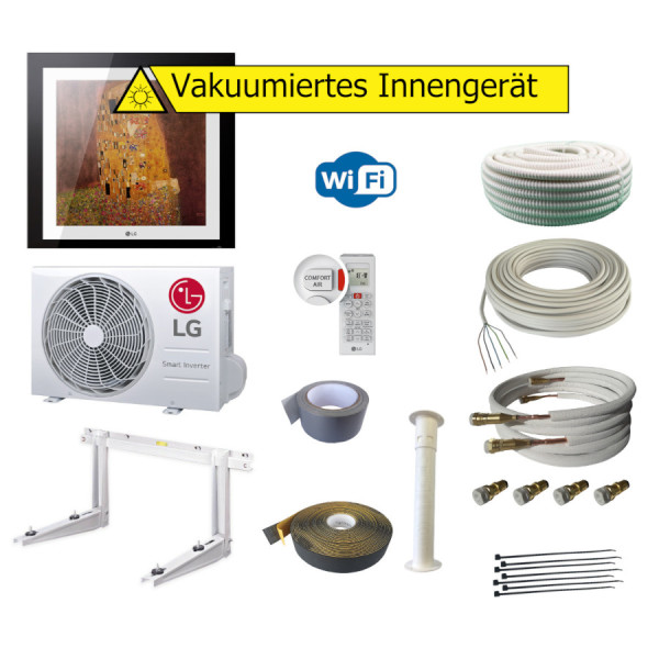 LG Artcool Gallery A12FT 3,5 kW WiFi + Quick Connect (Optional)