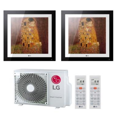 LG MU2R15 + 2x MA09R 2,6 kW oder MA09R 2,6 kW + MA12R 3,5 kW