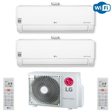 LG MU2R15 + 2x AP09RT 2,5 kW oder AP09RT 2,5 kW + AP12RT...