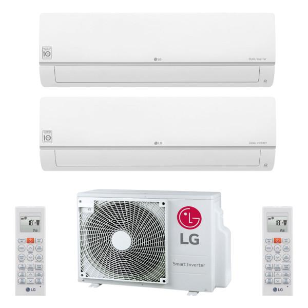 LG MU2R15 + 2x PC09SQ 2,5 kW oder PC09SQ 2,5 kW + PC12SQ 3,5 kW