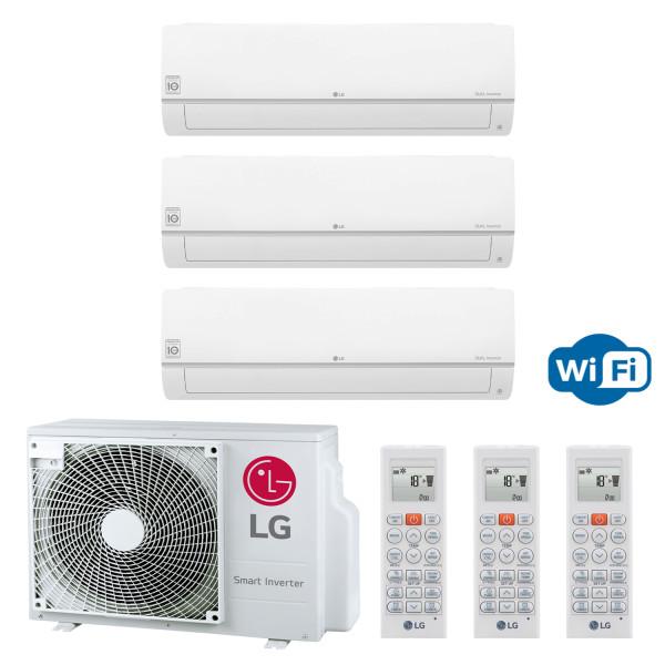 LG MU3R19 + 3x PC09SQ 2,5 kW oder 2x PC09SQ 2,5 kW + PC12SQ 3,5 kW