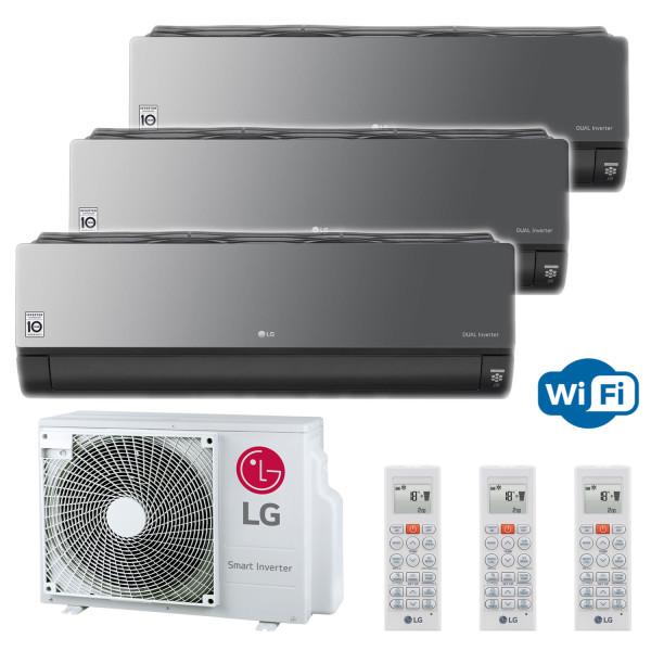 LG MU3R21 + 3x ARTCOOL ENERGY bis 3,5 kW mit WLAN (zur Auswahl)