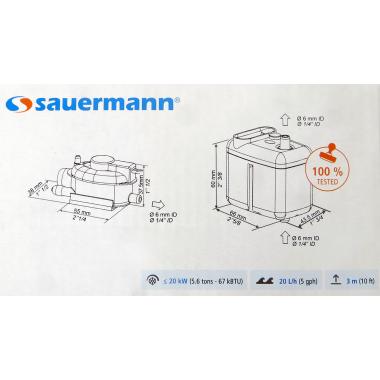 Sauermann Si-27 Kondensatpumpe für Klimaanlage