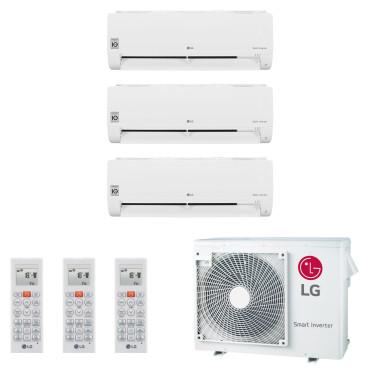 LG Multisplit Trio MU3R19 + 2x S09ET 2,5 kW + S12ET 3,5...