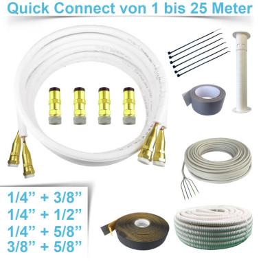 "Quick Connect 1 - 25 Meter, 1/4""+3/8"",..."