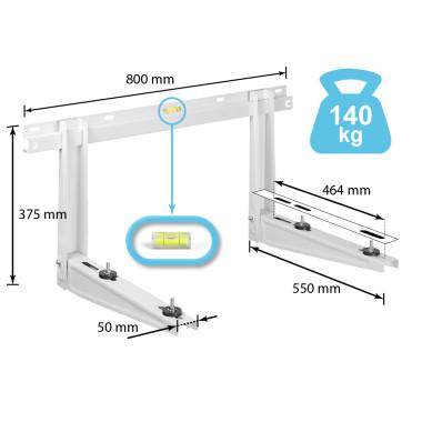 Wandkonsole für Klimaanlagen/Klimageräte...