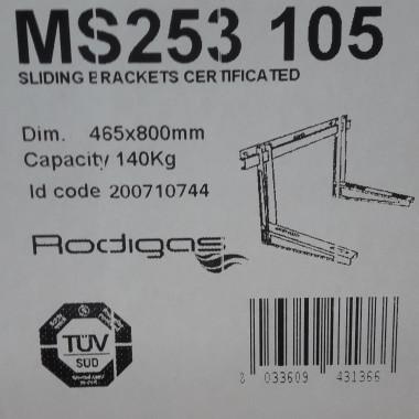 Wandkonsole für Klimaanlagen/Klimageräte Rodigas MS253 105 465x800mm